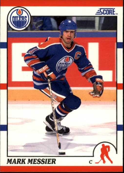 1990-91 Score #100 Mark Messier