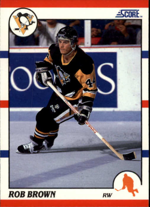 1990-91 Score #105 Rob Brown