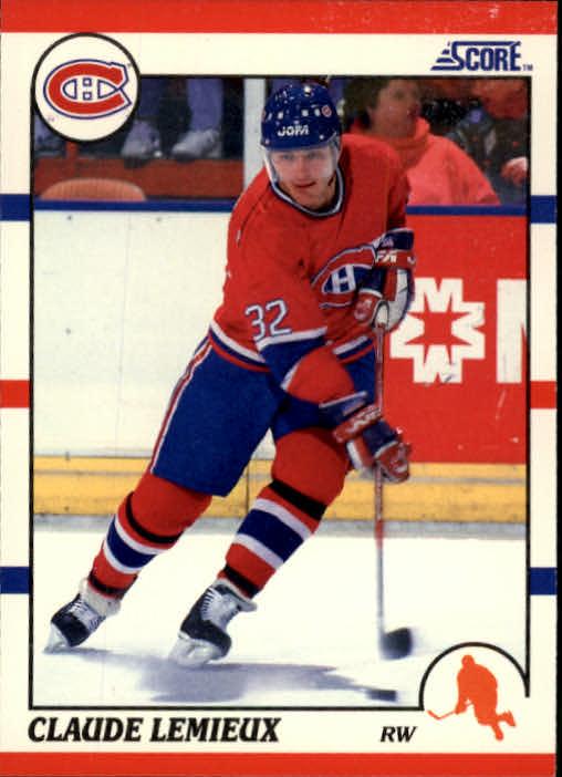 1990-91 Score #111 Claude Lemieux