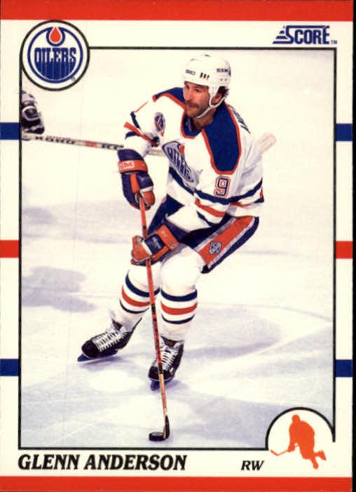 1990-91 Score #114 Glenn Anderson