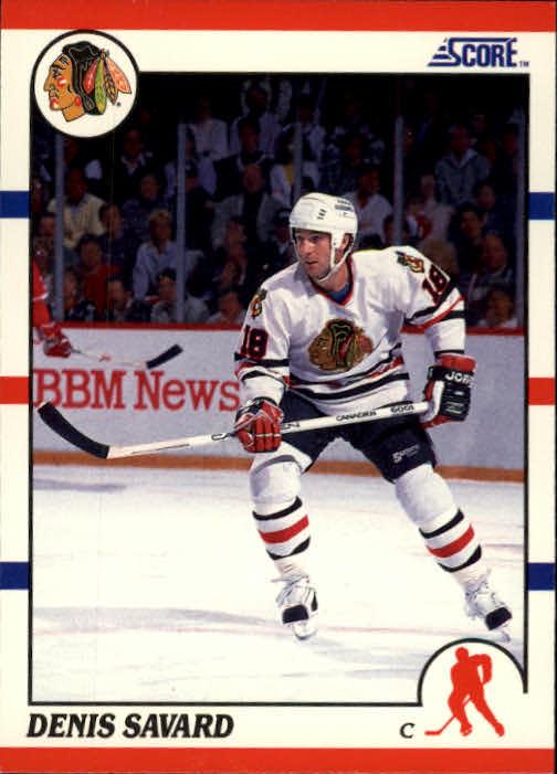 1990-91 Score #125 Denis Savard