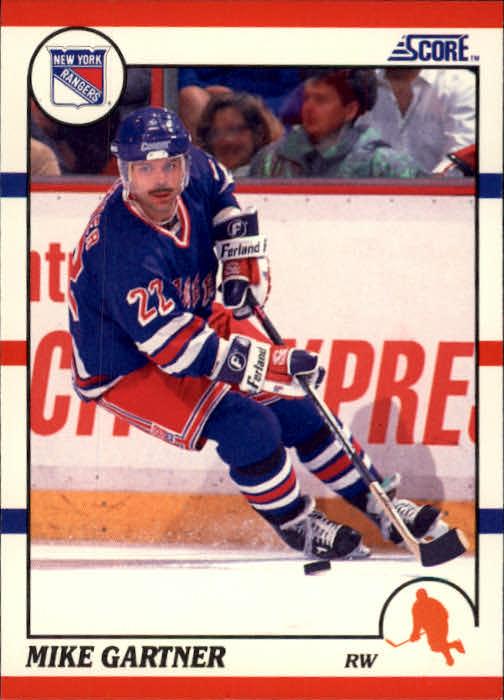 1990-91 Score #130 Mike Gartner