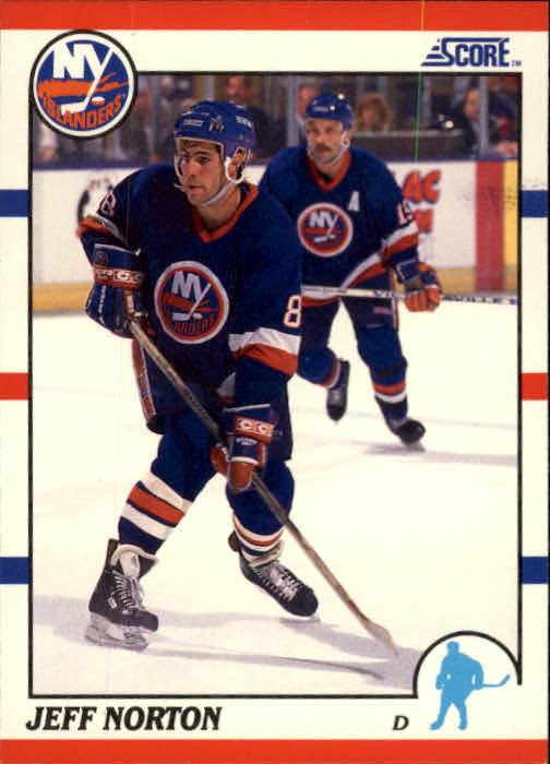 1990-91 Score #157 Jeff Norton