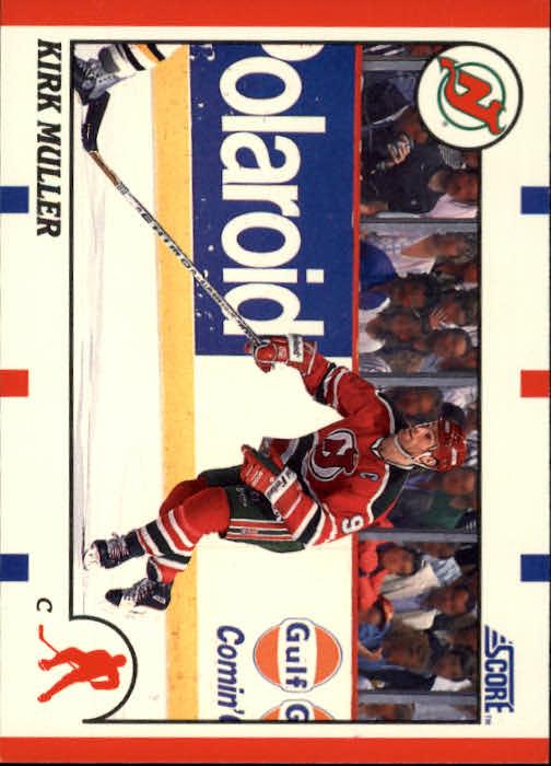 1990-91 Score #160 Kirk Muller