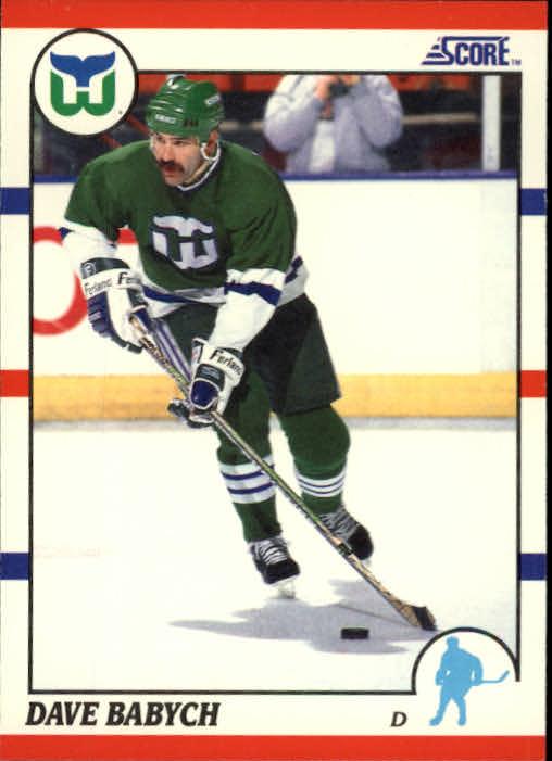 1990-91 Score #172 Dave Babych