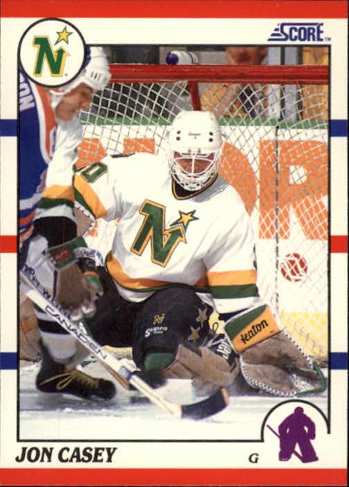 1990-91 Score #182 Jon Casey