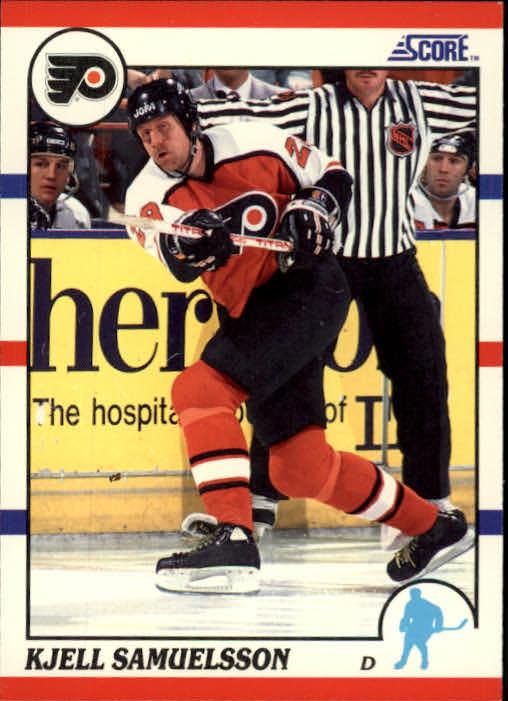 1990-91 Score #197 Kjell Samuelsson