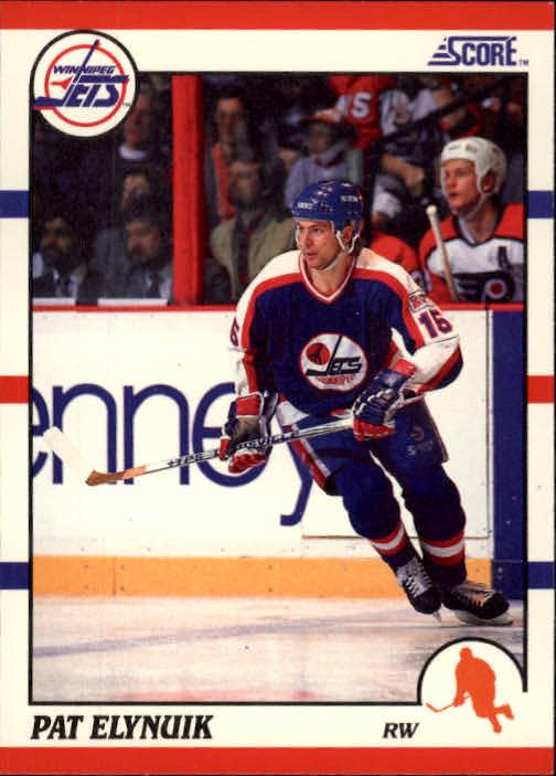 1990-91 Score #205 Pat Elynuik