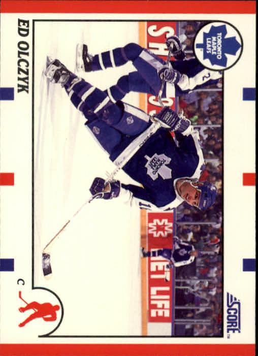 1990-91 Score #210 Ed Olczyk