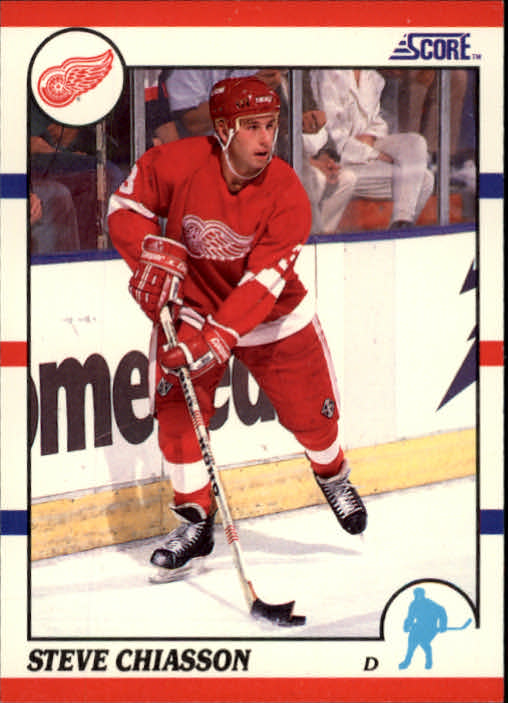 1990-91 Score #214 Steve Chiasson