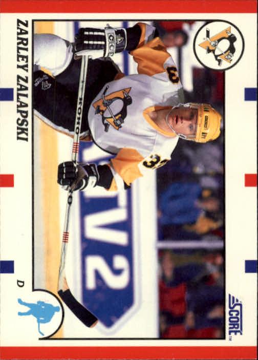 1990-91 Score #218 Zarley Zalapski