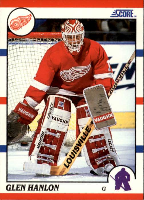 1990-91 Score #228 Glen Hanlon