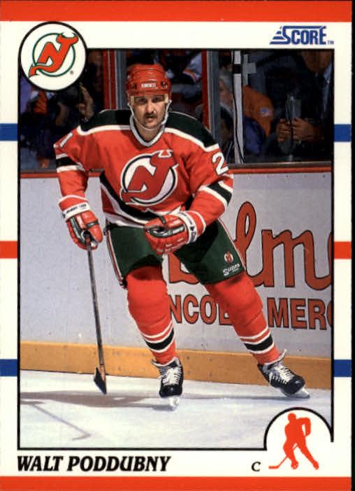 1990-91 Score #278 Walt Poddubny