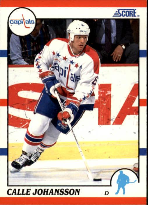 1990-91 Score #309 Calle Johansson