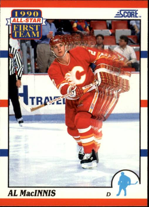 1990-91 Score #314 Al MacInnis AS1