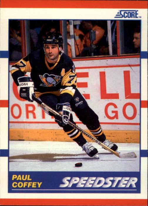 1990-91 Score #332 Paul Coffey Speed