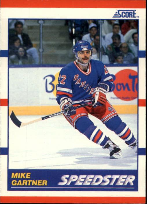 1990-91 Score #333 Mike Gartner Speed