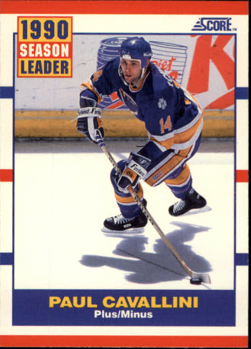 1990-91 Score #349 Paul Cavallini LL