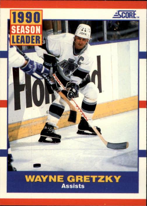 1990-91 Score #352 Wayne Gretzky LL