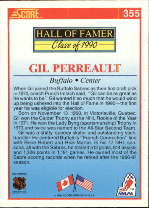 1990-91 Score #353 Wayne Gretzky LL back image