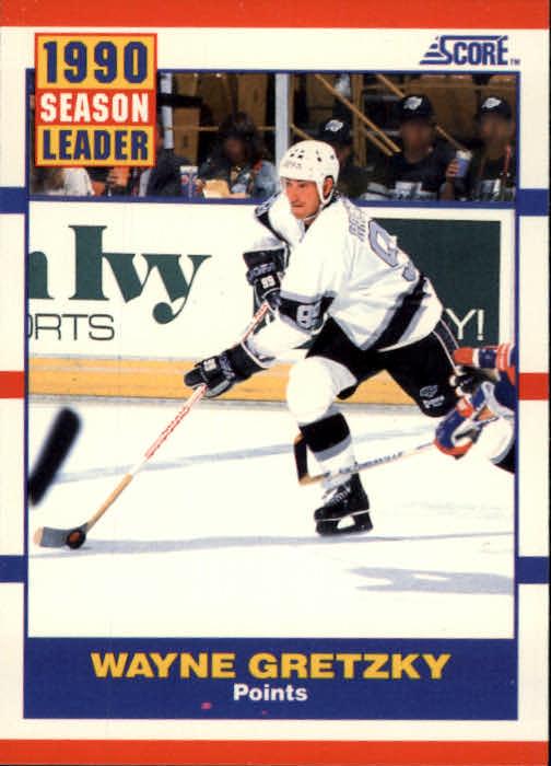 1990-91 Score #353 Wayne Gretzky LL