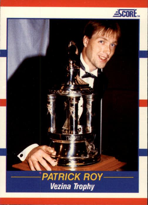1990-91 Score #364 Patrick Roy Vezina