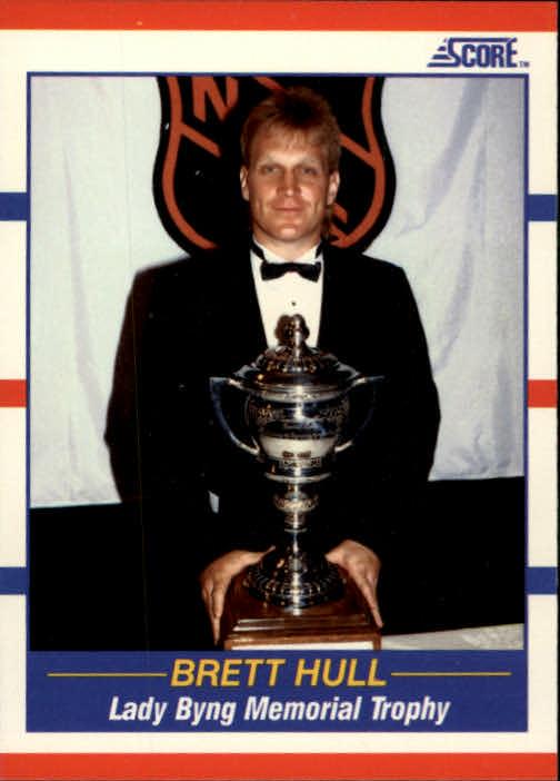 1990-91 Score #366 Brett Hull Byng