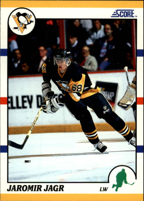 1990-91 Score Rookie Traded #70T Jaromir Jagr