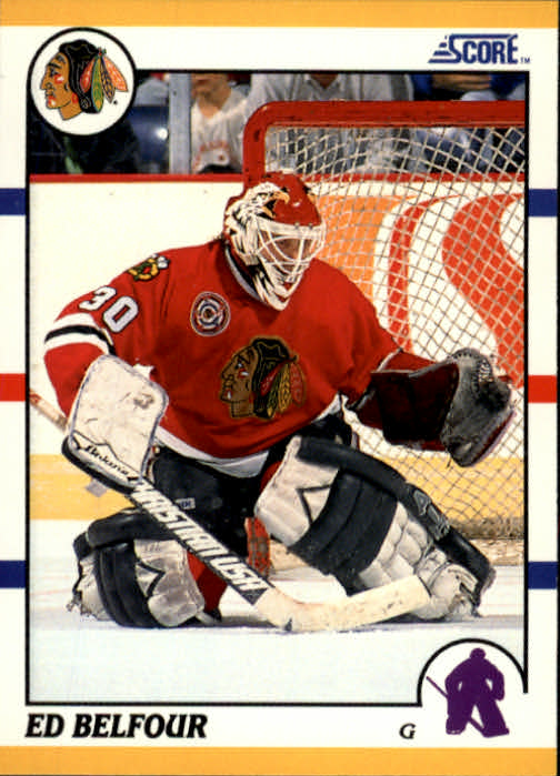1990-91 Score Rookie Traded #103T Ed Belfour RC