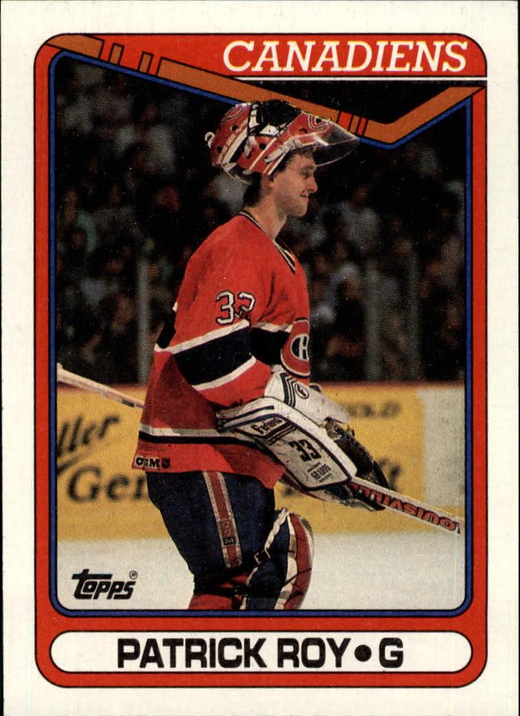 1990-91 Topps #219 Patrick Roy