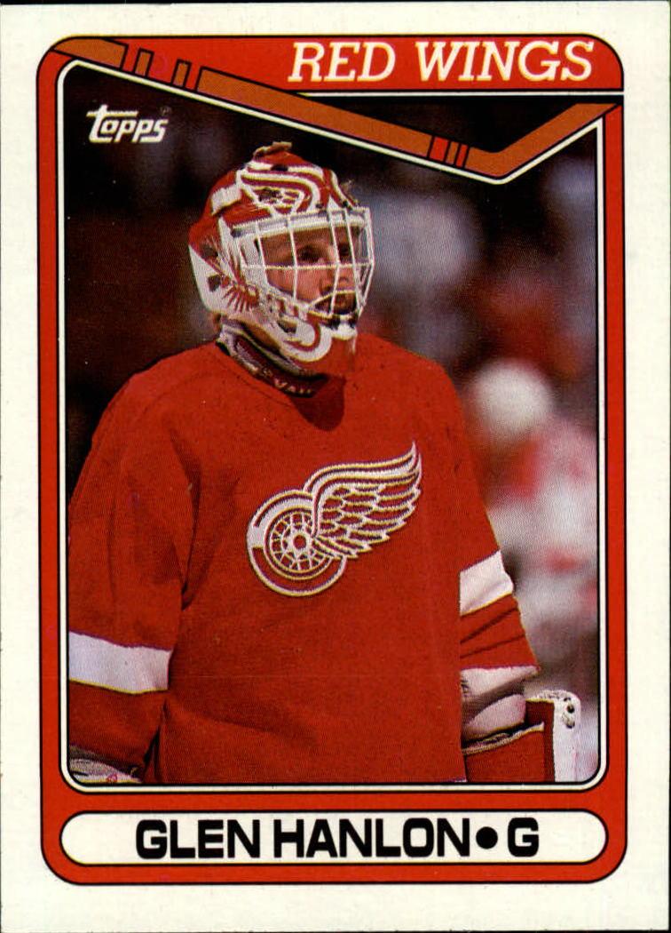 1990-91 Topps #266 Glen Hanlon