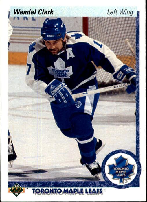1990-91 Upper Deck #3 Wendel Clark