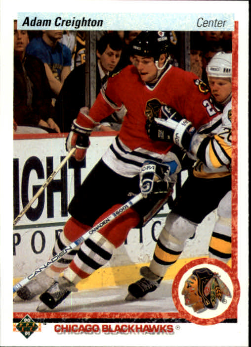 1990-91 Upper Deck #4 Adam Creighton