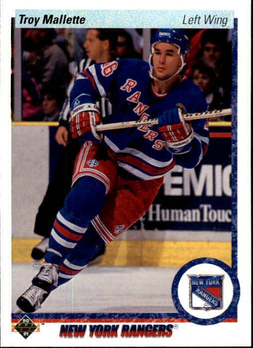 1990-91 Upper Deck #11 Troy Mallette RC