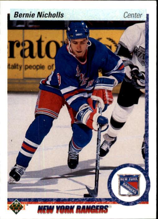 1990-91 Upper Deck #34 Bernie Nicholls
