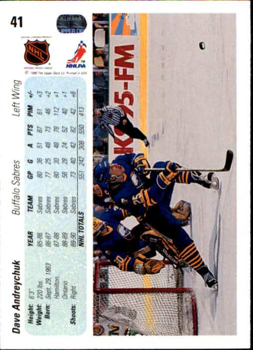 1990-91-Upper-Deck-Hockey-s-1-200-Rookies-You-Pick-Buy-10-cards-FREE-SHIP thumbnail 82