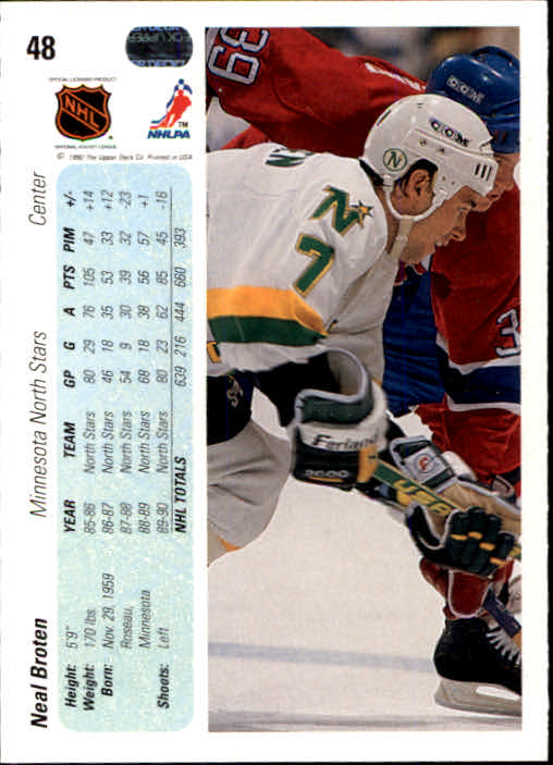 1990-91-Upper-Deck-Hockey-s-1-200-Rookies-You-Pick-Buy-10-cards-FREE-SHIP thumbnail 96