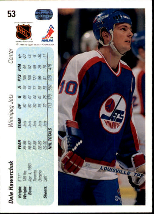 1990-91-Upper-Deck-Hockey-s-1-200-Rookies-You-Pick-Buy-10-cards-FREE-SHIP thumbnail 106