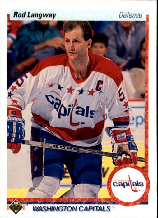 1990-91 Upper Deck #57 Rod Langway