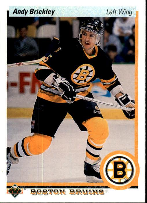 1990-91 Upper Deck #84 Andy Brickley