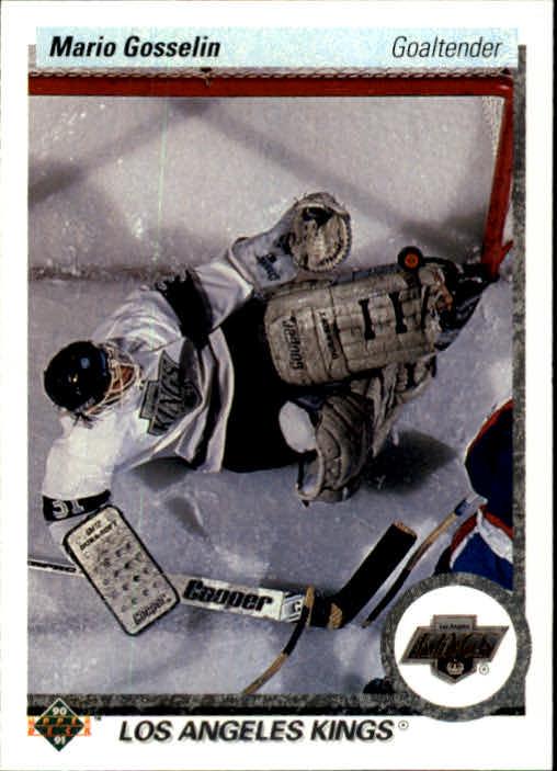 1990-91 Upper Deck #91 Mario Gosselin