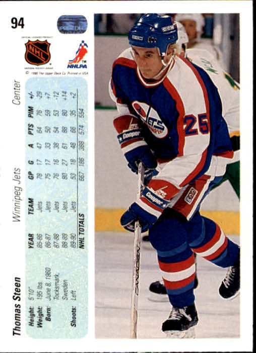 1990-91-Upper-Deck-Hockey-s-1-200-Rookies-You-Pick-Buy-10-cards-FREE-SHIP thumbnail 184