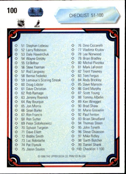 1990-91-Upper-Deck-Hockey-s-1-200-Rookies-You-Pick-Buy-10-cards-FREE-SHIP thumbnail 196