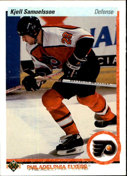 1990-91 Upper Deck #116 Kjell Samuelsson
