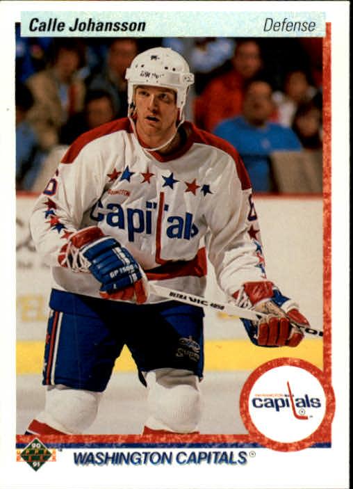 1990-91 Upper Deck #149 Calle Johansson