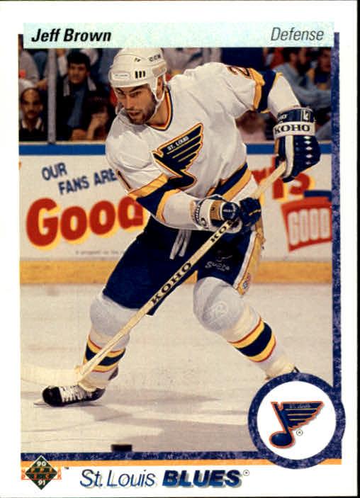1990-91 Upper Deck #191 Jeff Brown
