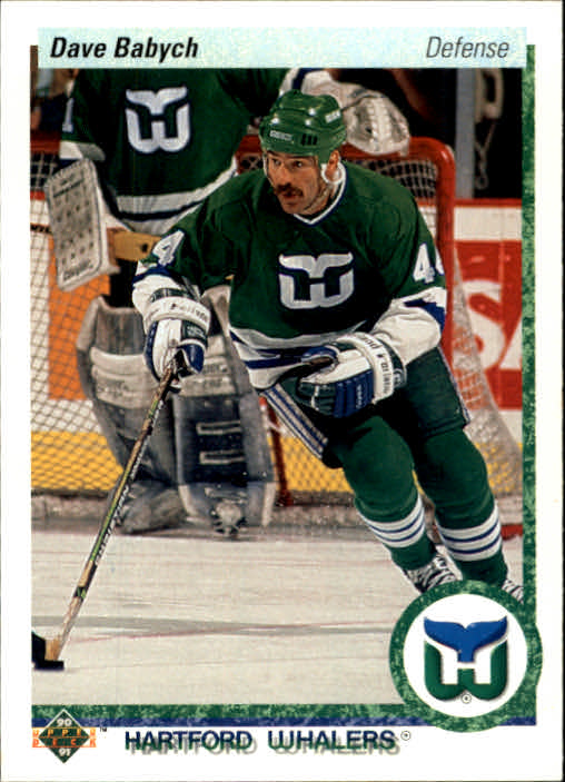 1990-91 Upper Deck #194 Dave Babych