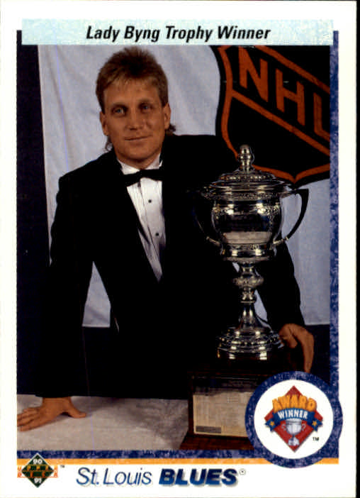 1990-91 Upper Deck #203 Lady Byng Trophy/Brett Hull