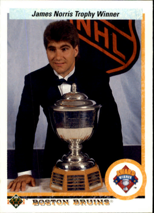 1990-91 Upper Deck #204 Norris Trophy/Ray Bourque