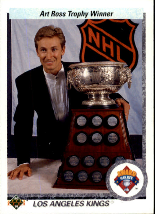 1990-91 Upper Deck #205 Art Ross Trophy/Wayne Gretzky